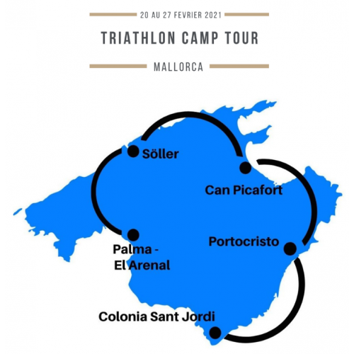 RESERVATION TRAINING CAMP TOUR CORSICA