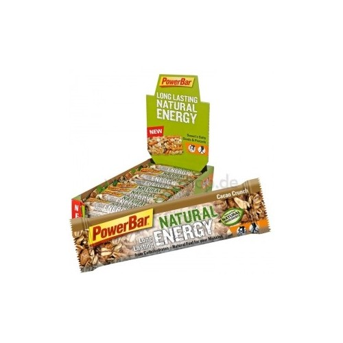 PACK 12 BARRES NATURAL ENERGY POWERBAR
